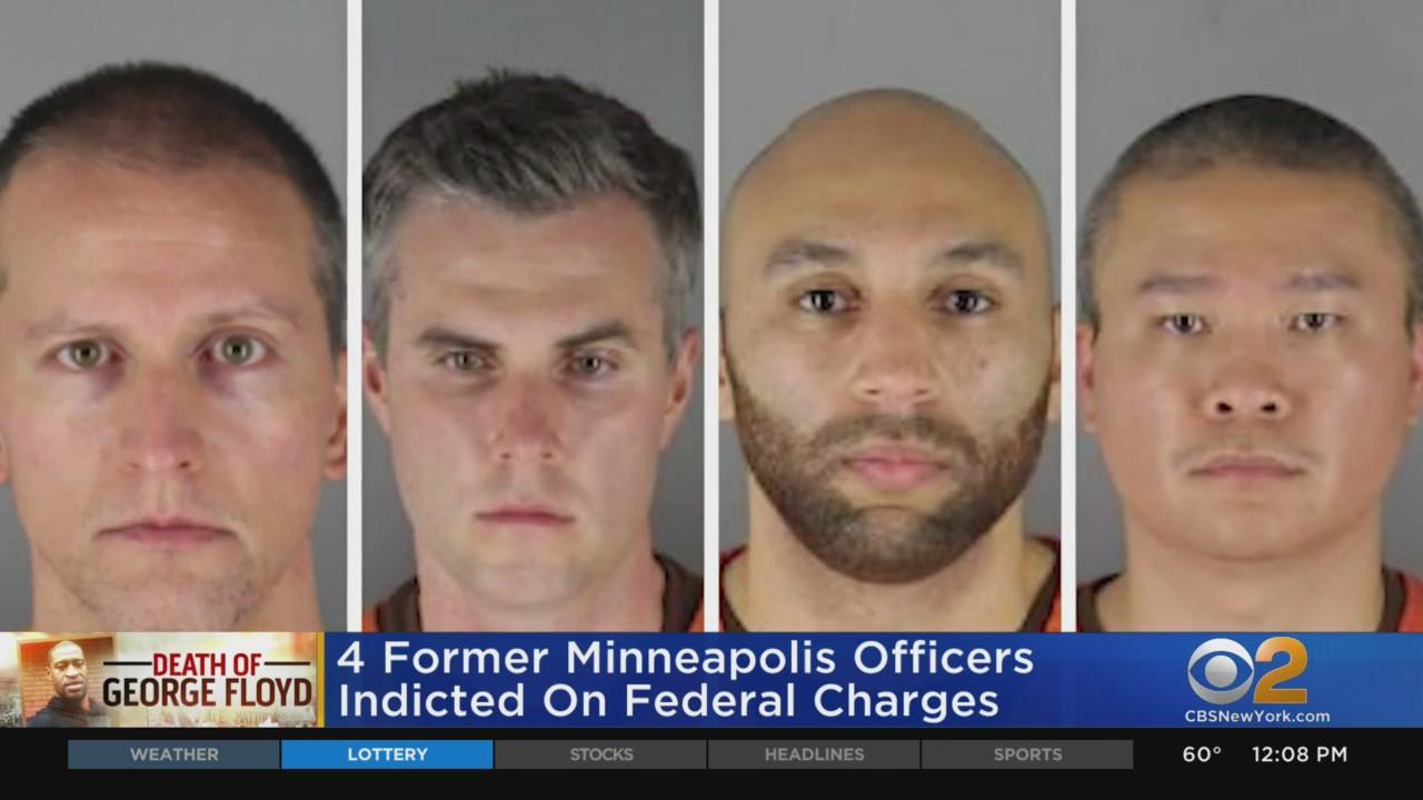 4 Former Minneapolis Police Officers Indicted On Federal Charges