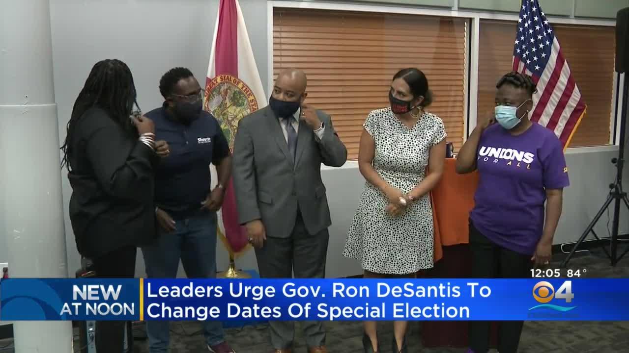 Broward Community Leaders Urge Gov. DeSantis To Move Up Special Election