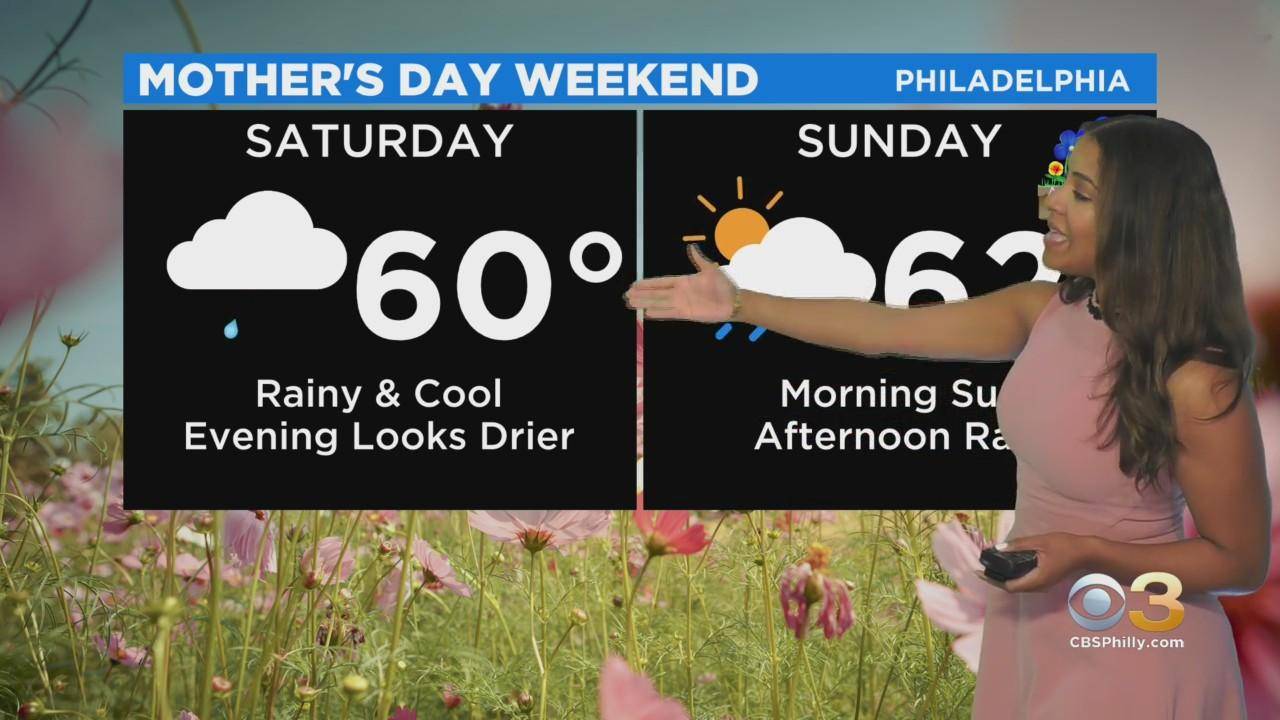Philadelphia Weather: Cool Mother's Day Weekend