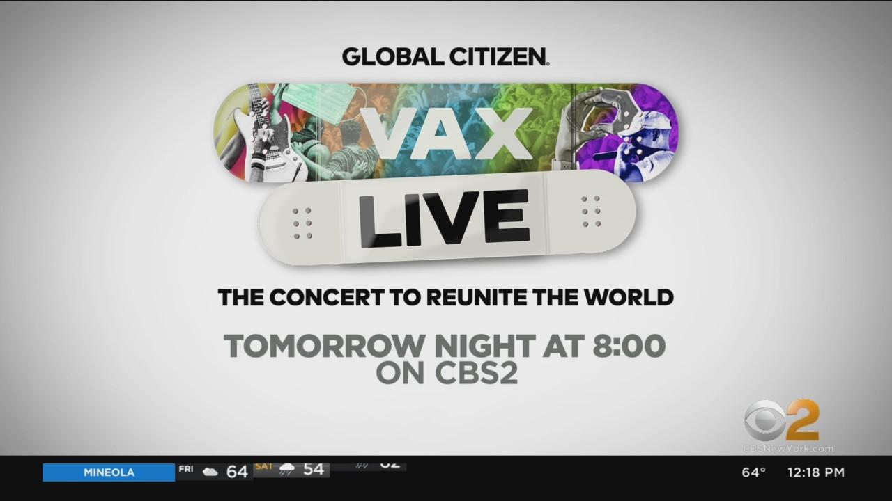 Vax Live Concert Airs Saturday At 8 PM On CBS2
