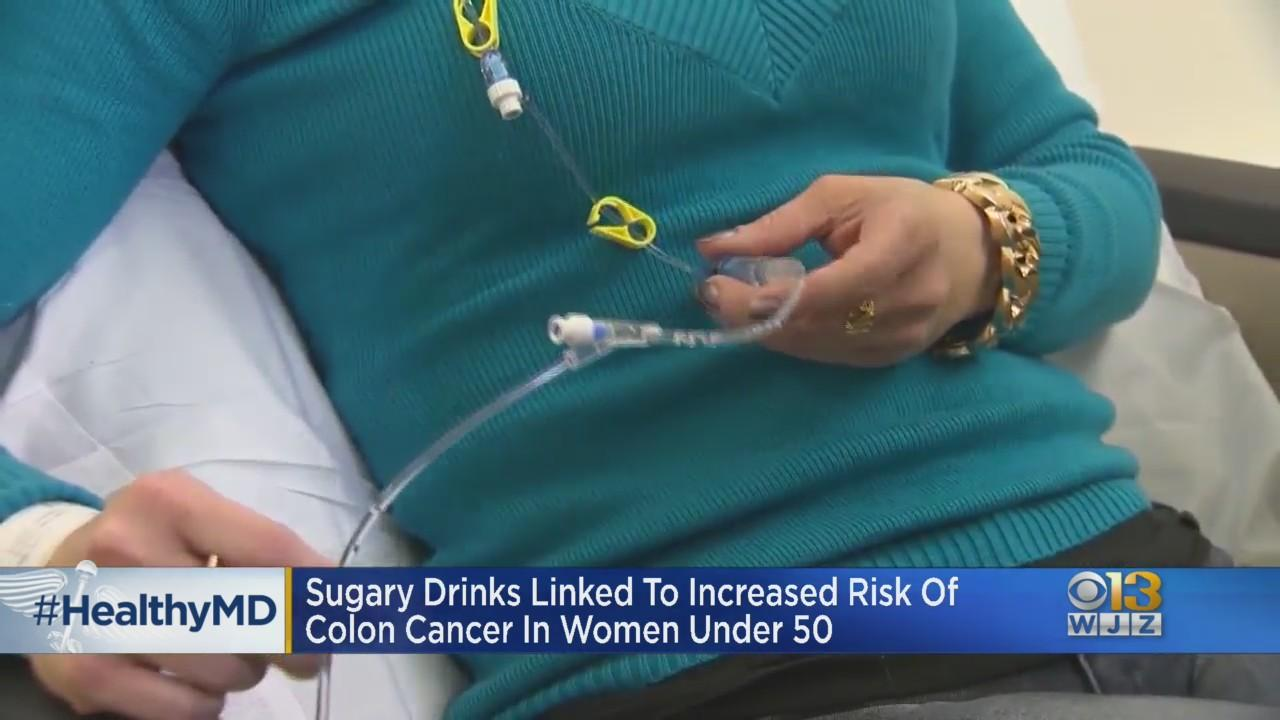 Healthwatch: Sugary Drinks Linked To Increased Risk Of Colon Cancer In Women Under 50