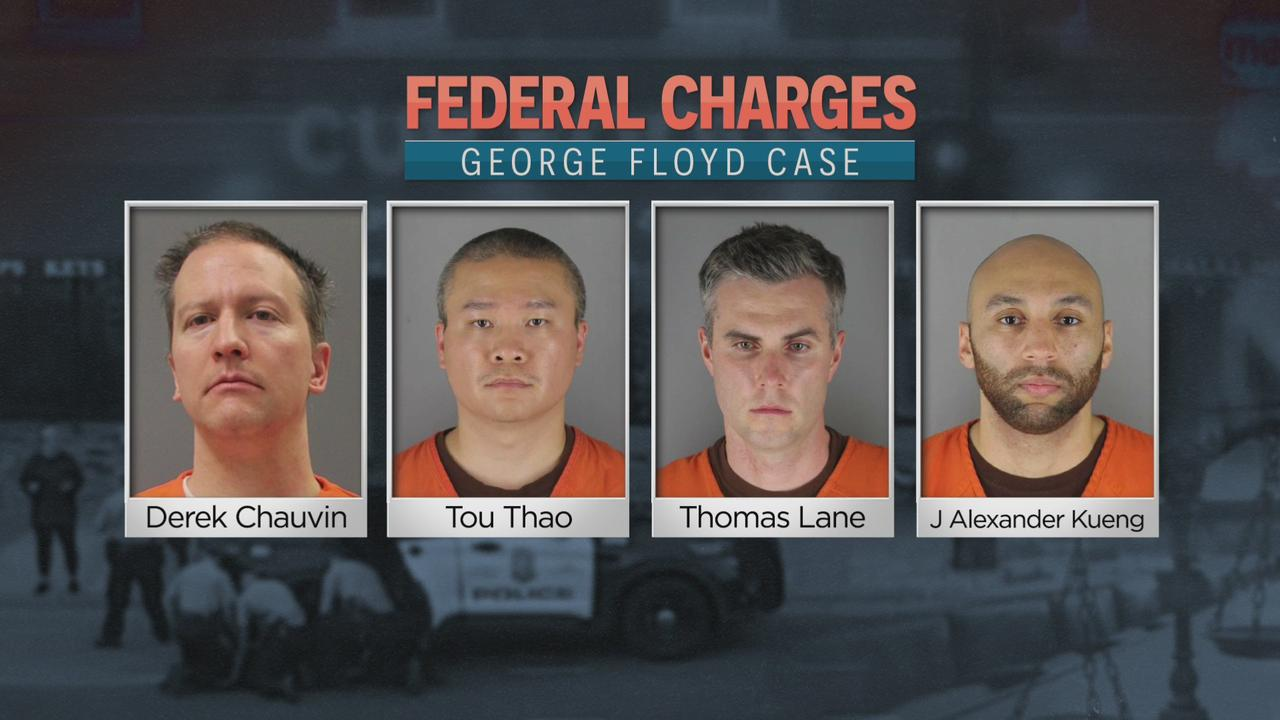 4 Former MPD Officers Indicted On U.S. Civil Rights Charges In George Floyd's Death