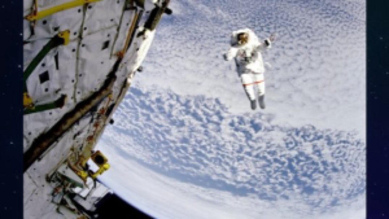 Can an Astronaut Float Off Into Space?