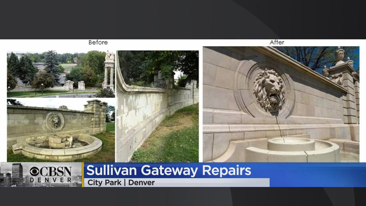 Denver Has Completed The Restoration & Repairs At Sullivan Gateway In City Park