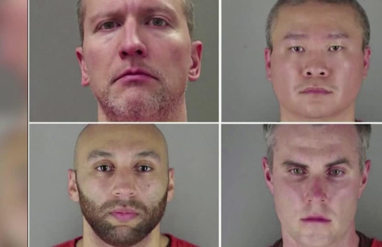 Four ex-cops face U.S. rights charges in Floyd killing