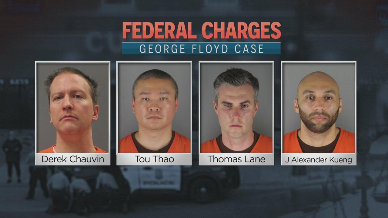 Four Ex-MPD Officers Indicted By Grand Jury In George Floyd's Death