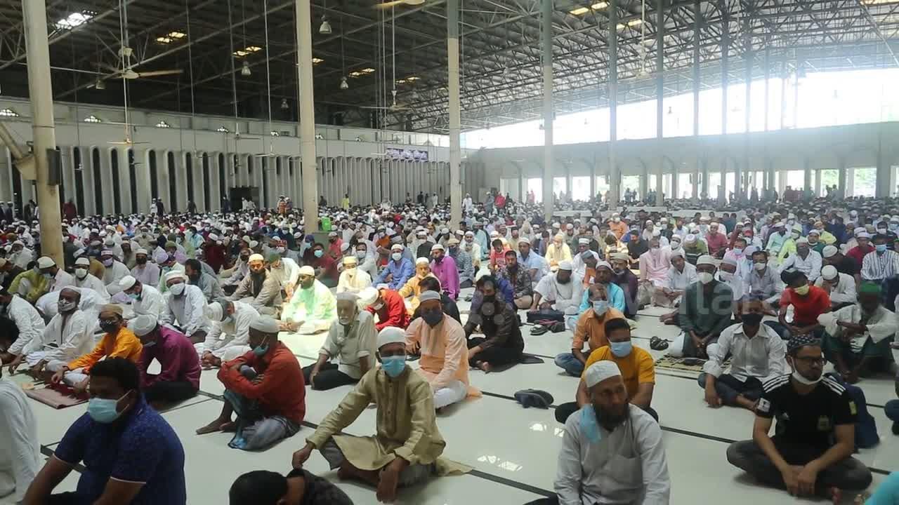Jumatul Bidah celebrated in National Mosque of Bangladesh