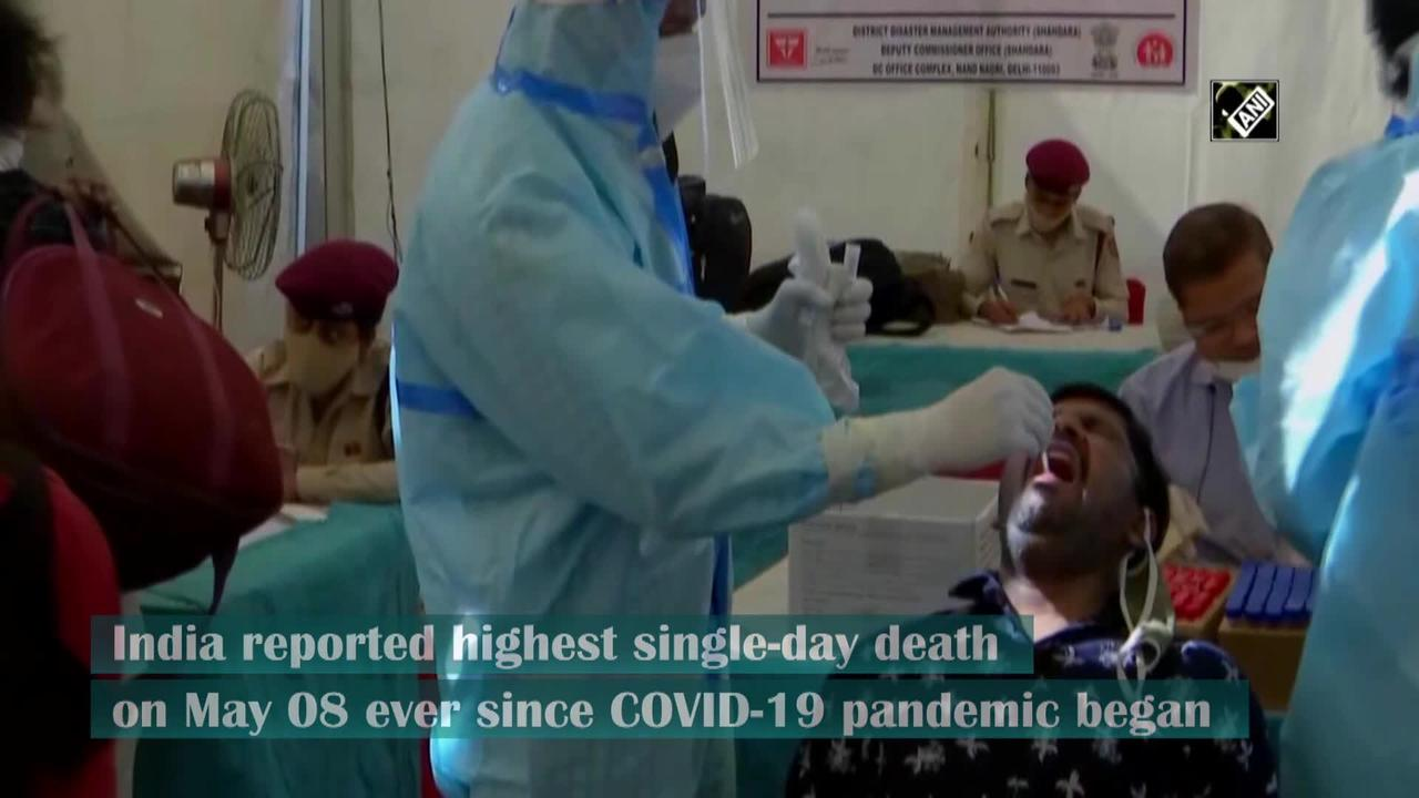 India logs highest single day COVID-19 deaths