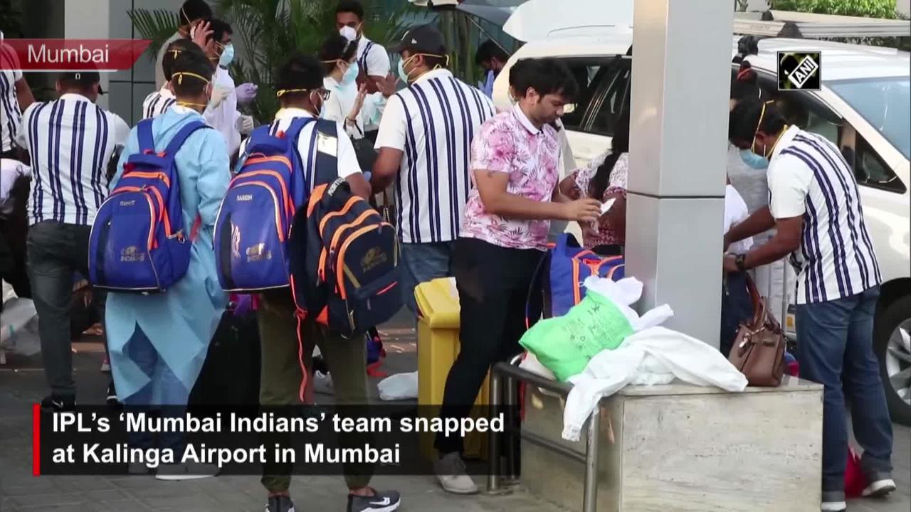 'Mumbai Indians' return home post suspension of IPL