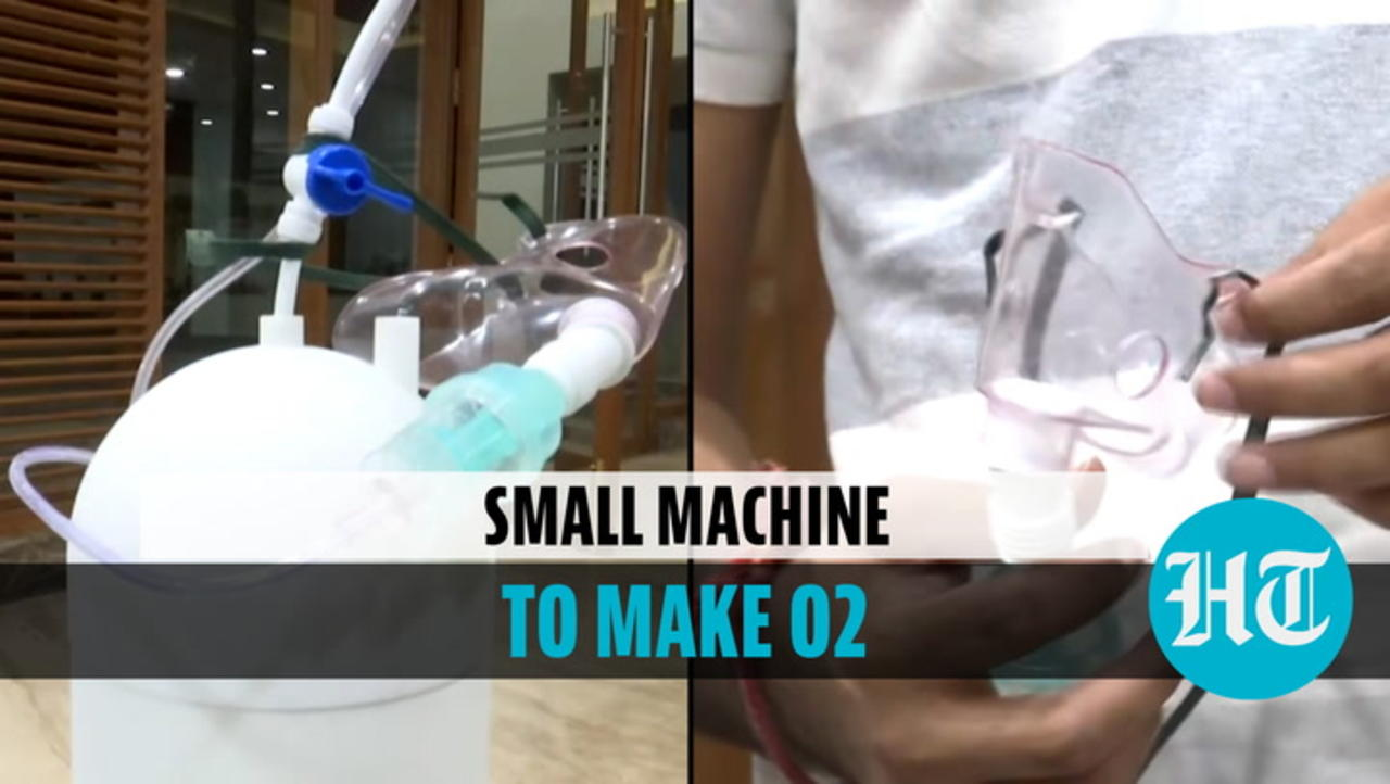 Watch: Portable oxygen generator made by Hyderabad start-up amid Covid crisis