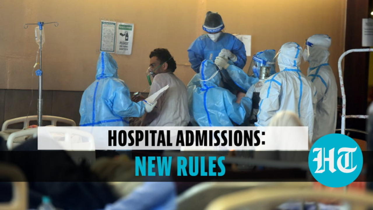 Positive Covid report not mandatory: Centre modifies hospital admission rules