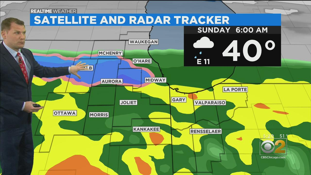 Chicago Weather: Rainy Saturday Night And Start To Chilly Mother's Day, But Warmup Ahead