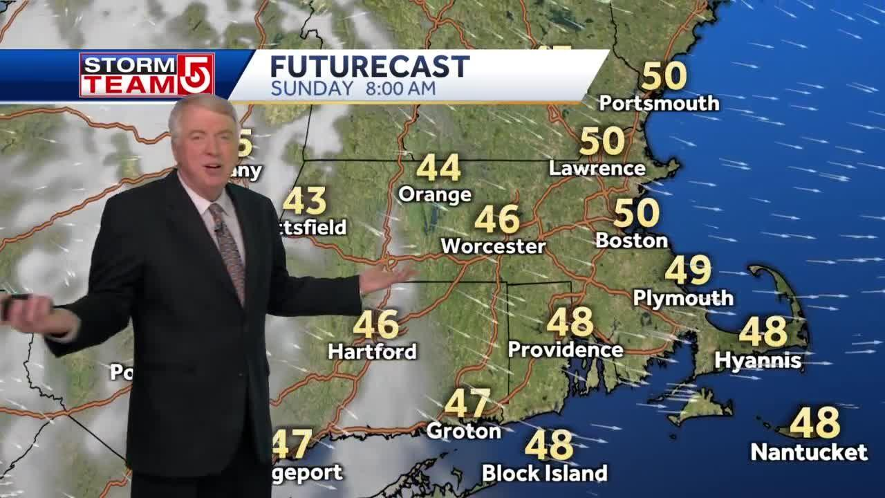 Video: Sunny start to Mother's Day in Massachusetts, clouds move in during afternoon