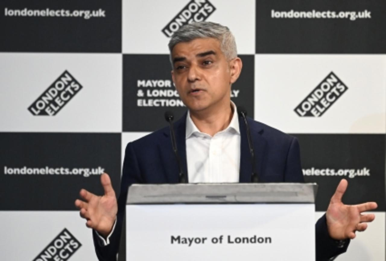 Sadiq Khan: 'I'm humbled to lead greatest city on earth'