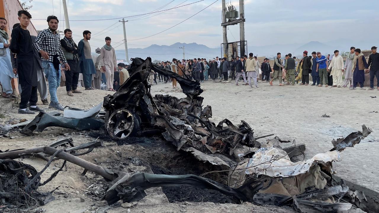 Blast kills dozens near school in Afghan capital Kabul
