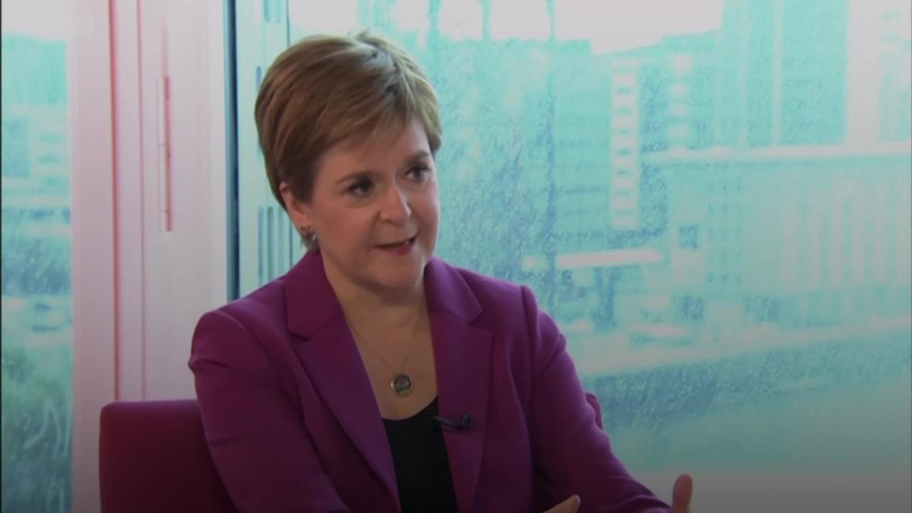 Nicola Sturgeon: UK Government showing lack of respect for Scottish democracy