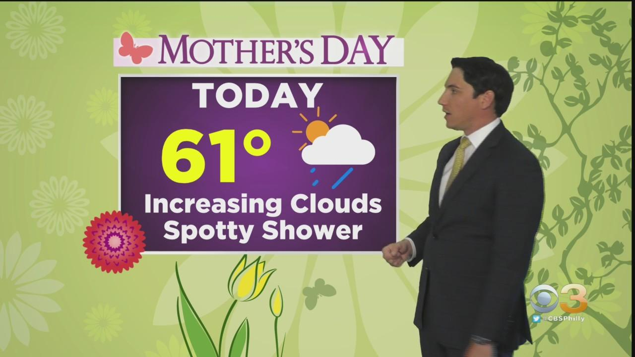 Philadelphia Weather: Cool, Cloudy Mother's Day