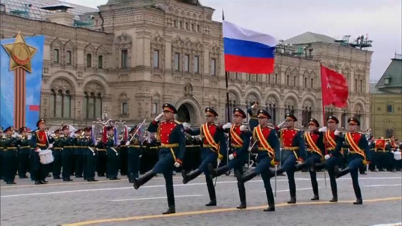 Victory Day: Vladimir Putin warns 'Nazi-era ideologies' remain strong