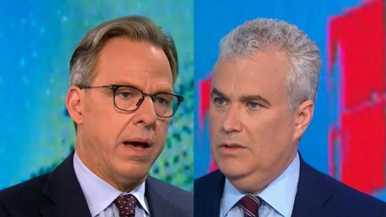 Tapper presses WH Covid-19 coordinator on vaccinated Biden wearing a mask