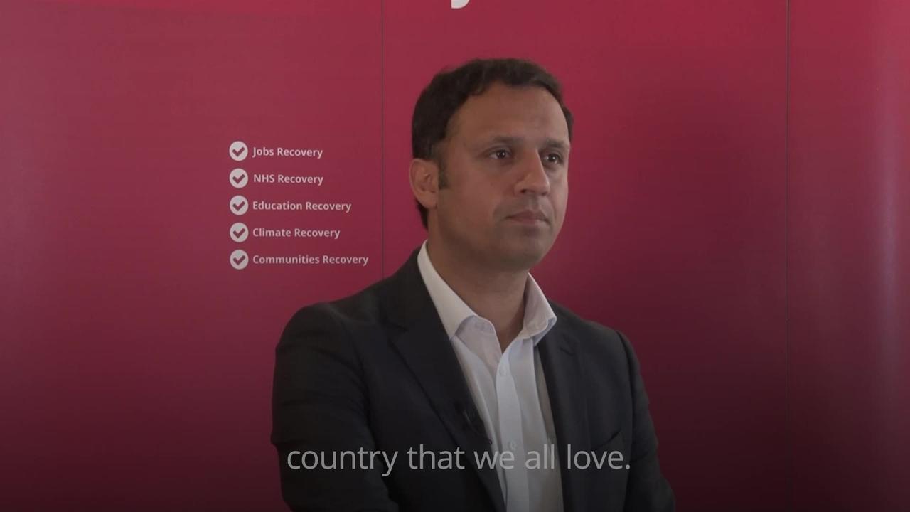 Labour needs to become a 'credible alternative to the SNP' -  Anas Sarwar