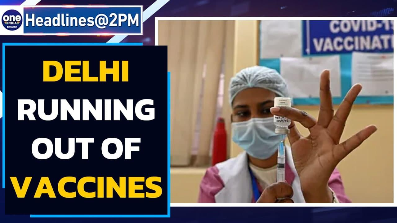 Delhi Govt sends SOS to Centre, 'Covaxin shots to last a day, Covidshield 3-4 days'  Oneindia News