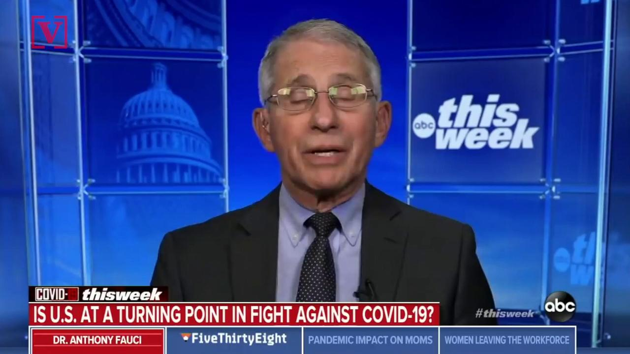 Dr. Fauci Suggests Indoor Mask Mandates May Soon Change
