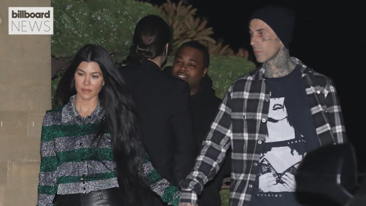 Travis Barker Goes All Out For Kourtney Kardashian on Mother's Day   Billboard News