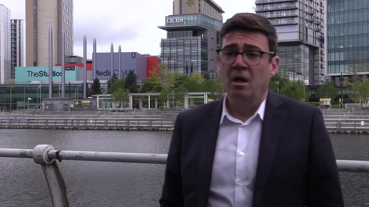 Burnham believes mayoral wins show Labour has bright future