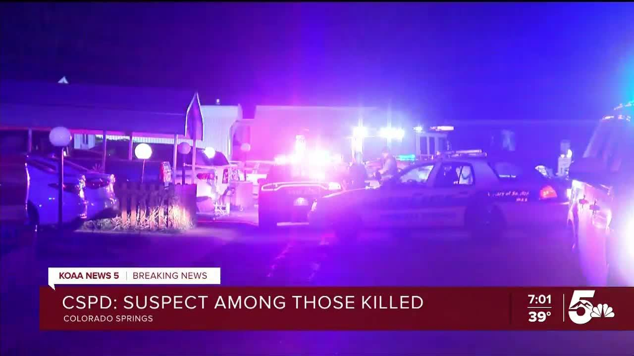 Colorado Springs Police: Suspect and multiple victims found dead in mobile home community
