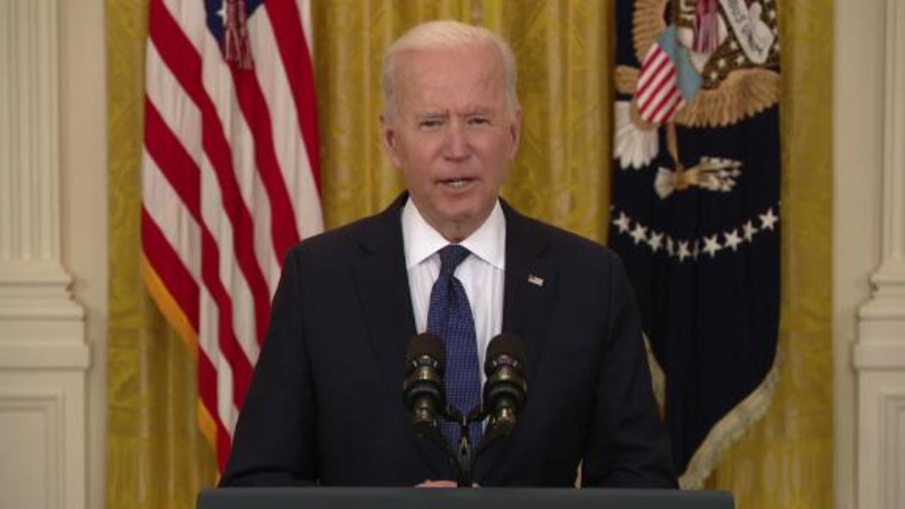 Hear Biden's response to Colonial Pipeline attack