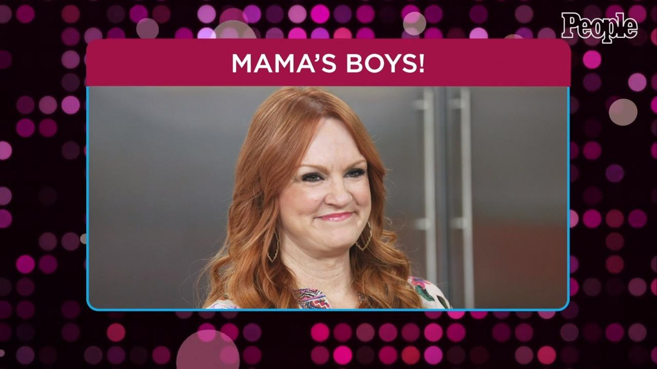 Pioneer Woman Ree Drummond Spends Mother's Day with Sons Todd and Jamar