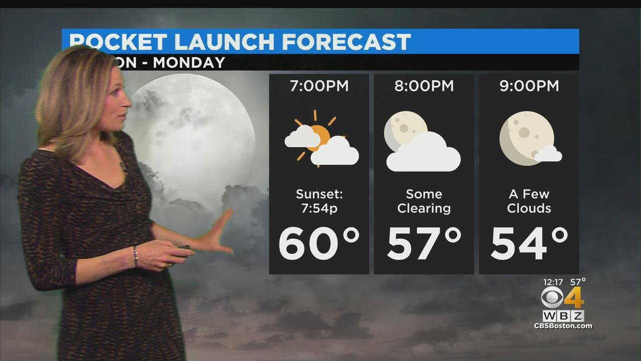 WBZ Midday Forecast For May 10