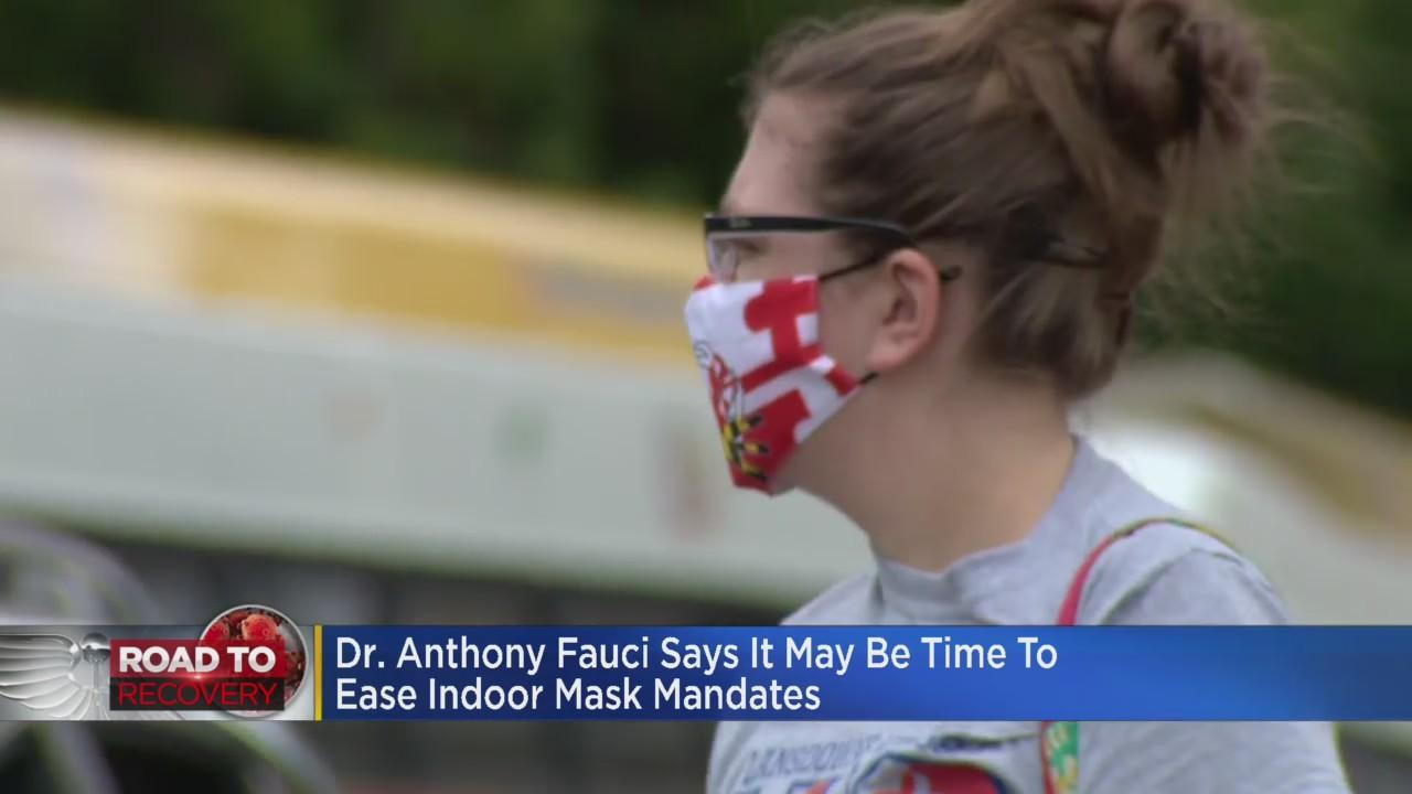 Dr. Anthony Fauci Says It May Be Time To Ease Indoor Mask Mandate