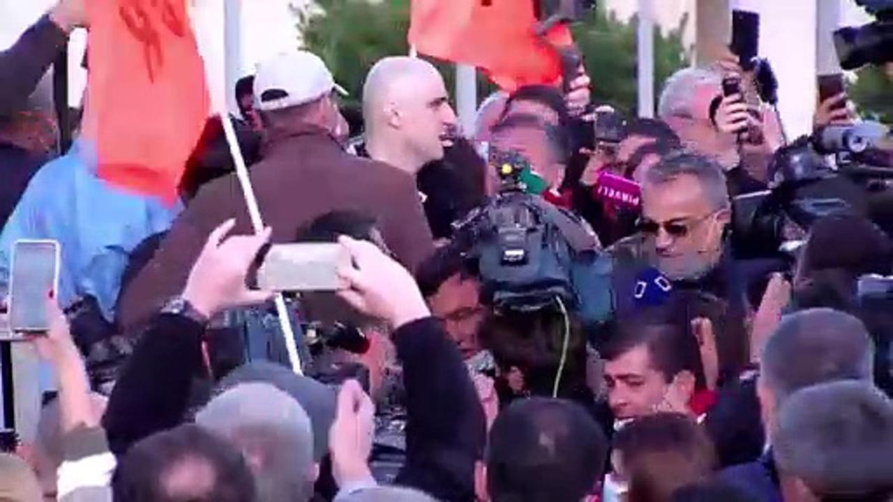 Georgia frees jailed opposition leader Nika Melia after EU posts bail