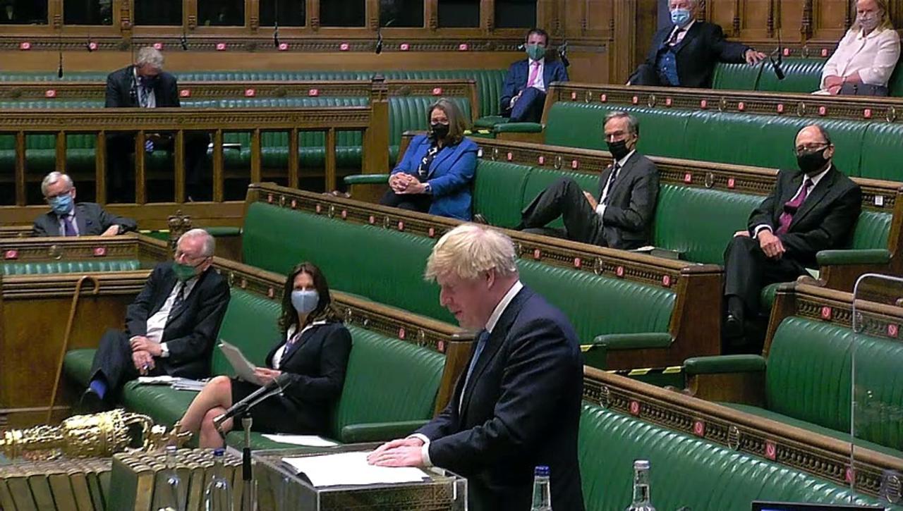 PM and Starmer debate Queen's Speech