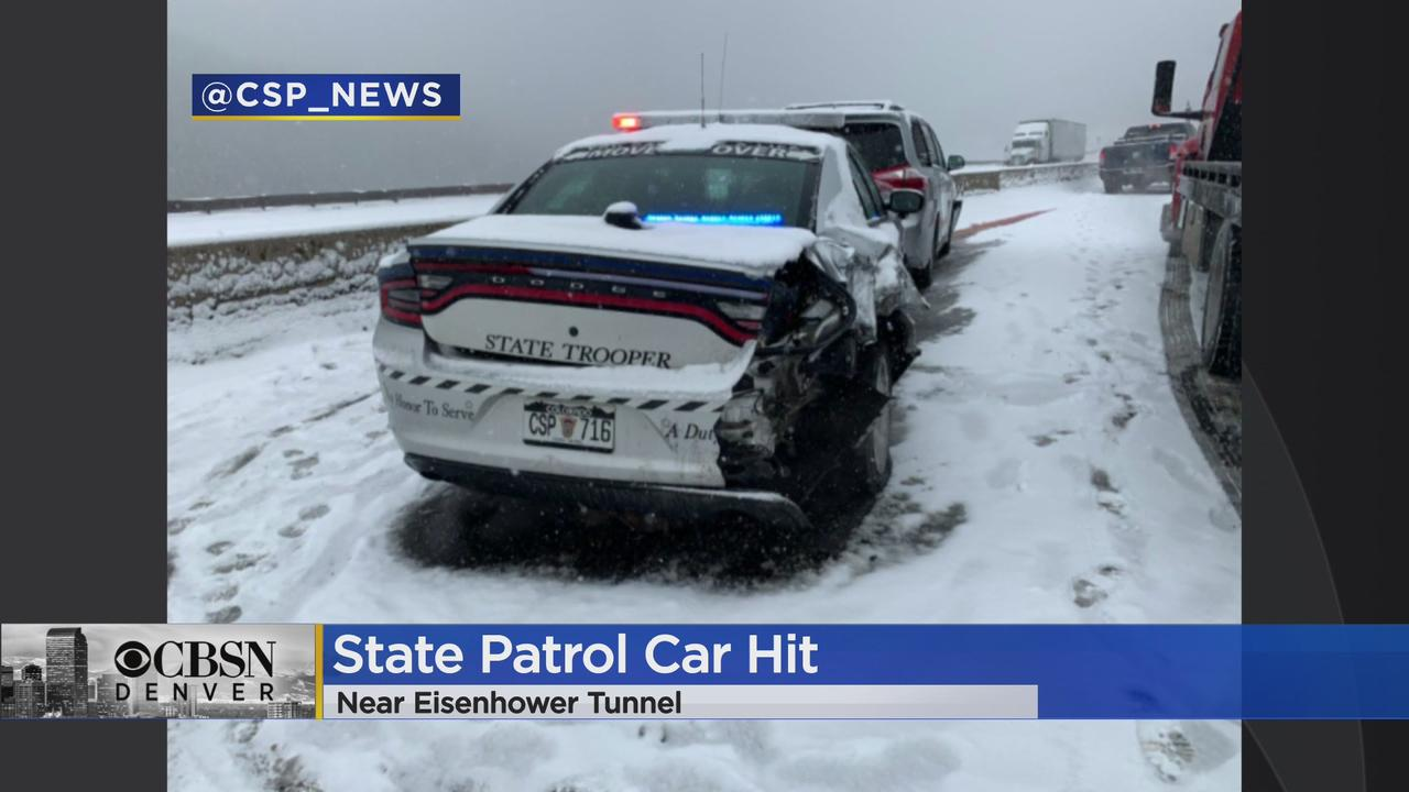 Colorado State Trooper Hit On I-70: 'This Has To Stop'