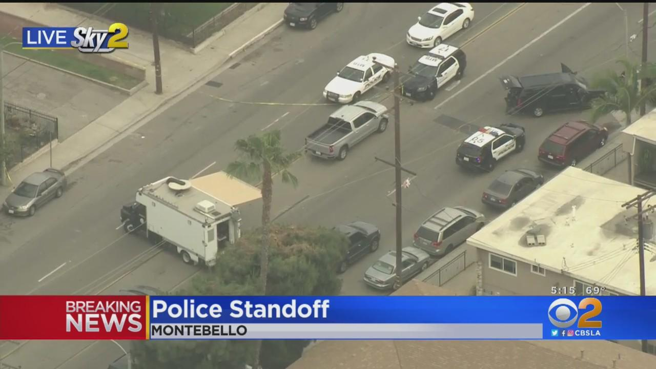 Montebello PD Involved In Hours-Long Standoff With Person Inside Apartment Building
