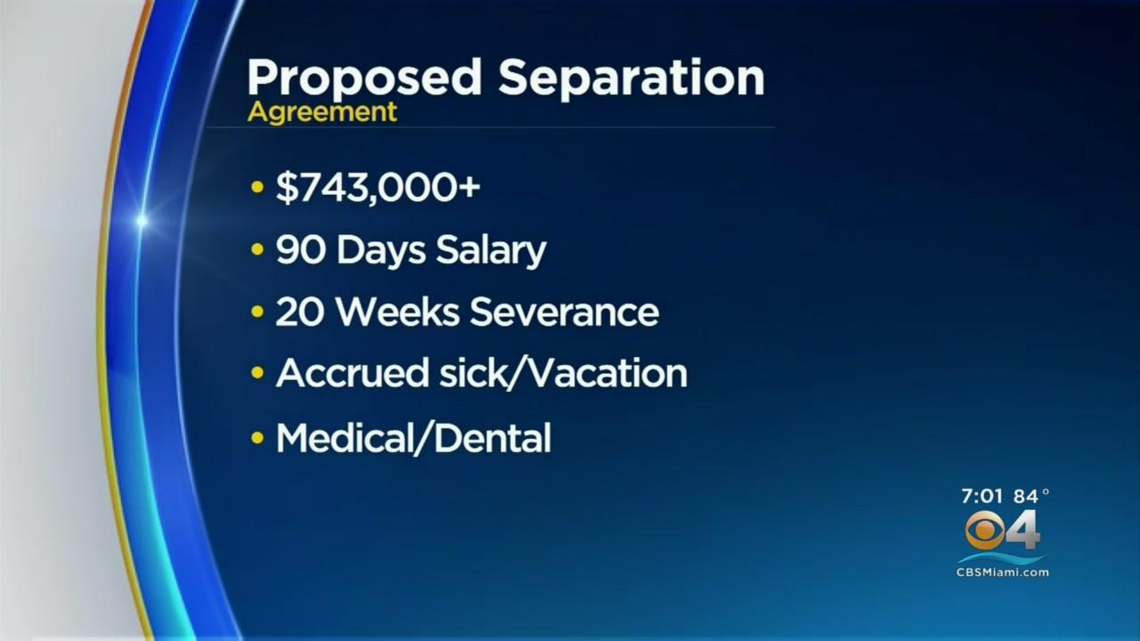 Big Numbers Being Tossed Around For Superintendent Robert Runcie's Exit Deal
