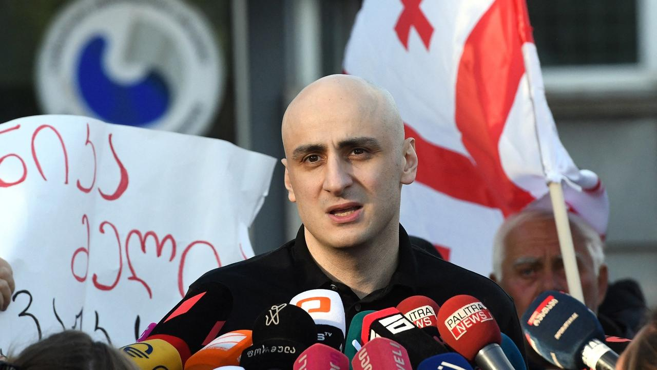 Georgia frees opposition leader Melia after court ruling