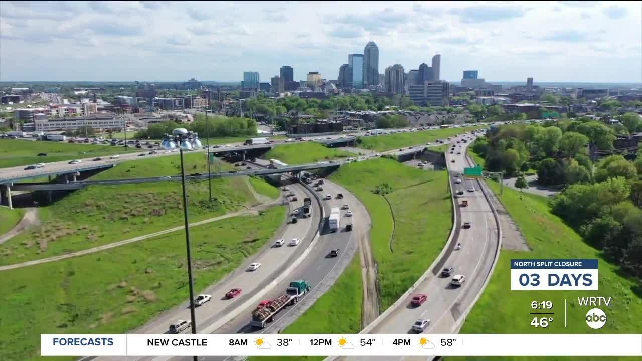 Why is the North Split reconstruction about to happen and what will change?