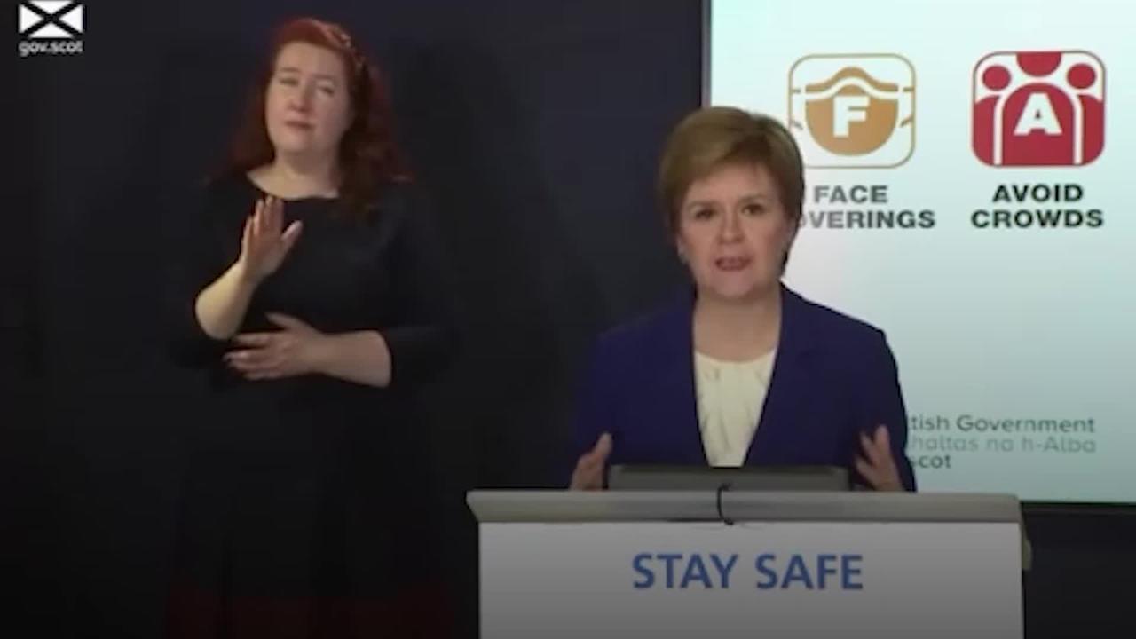 Hugs to return in Scotland as Sturgeon confirms further lockdown easing