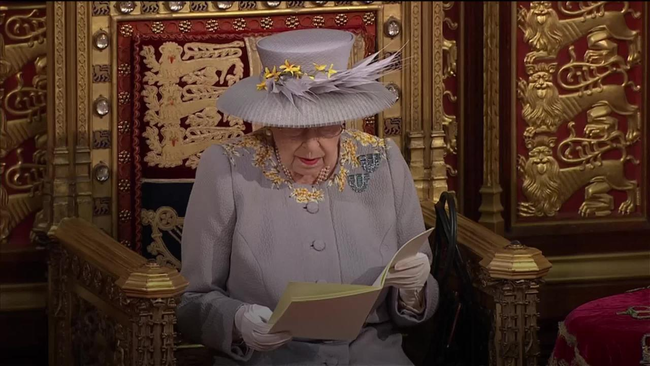 Changed State Opening of Parliament for widowed Queen