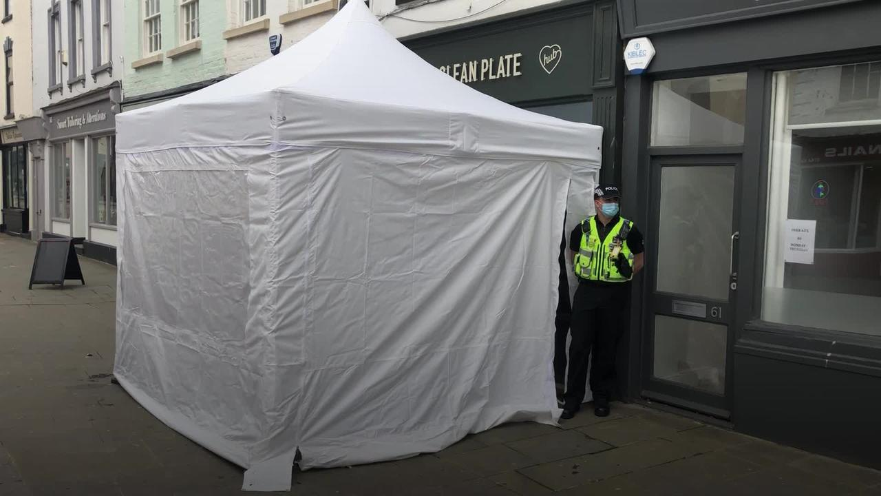Police search cafe for body linked to missing teen feared killed by Fred West