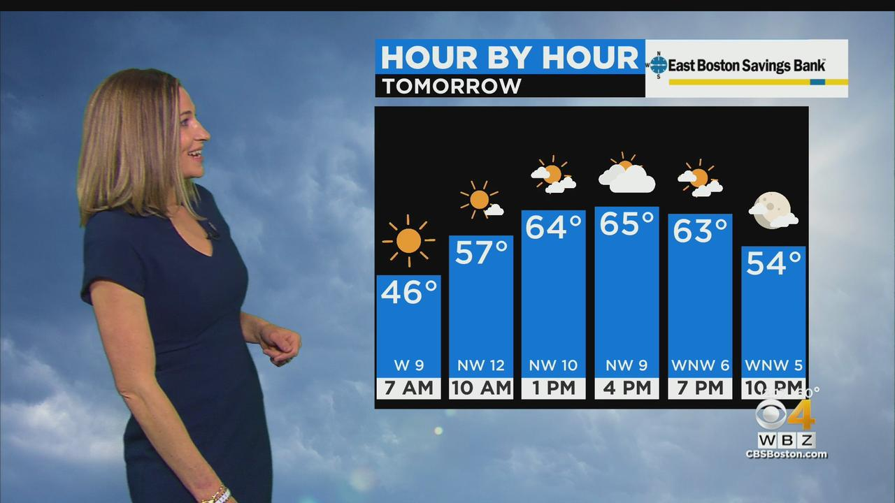 WBZ Midday Forecast For May 11