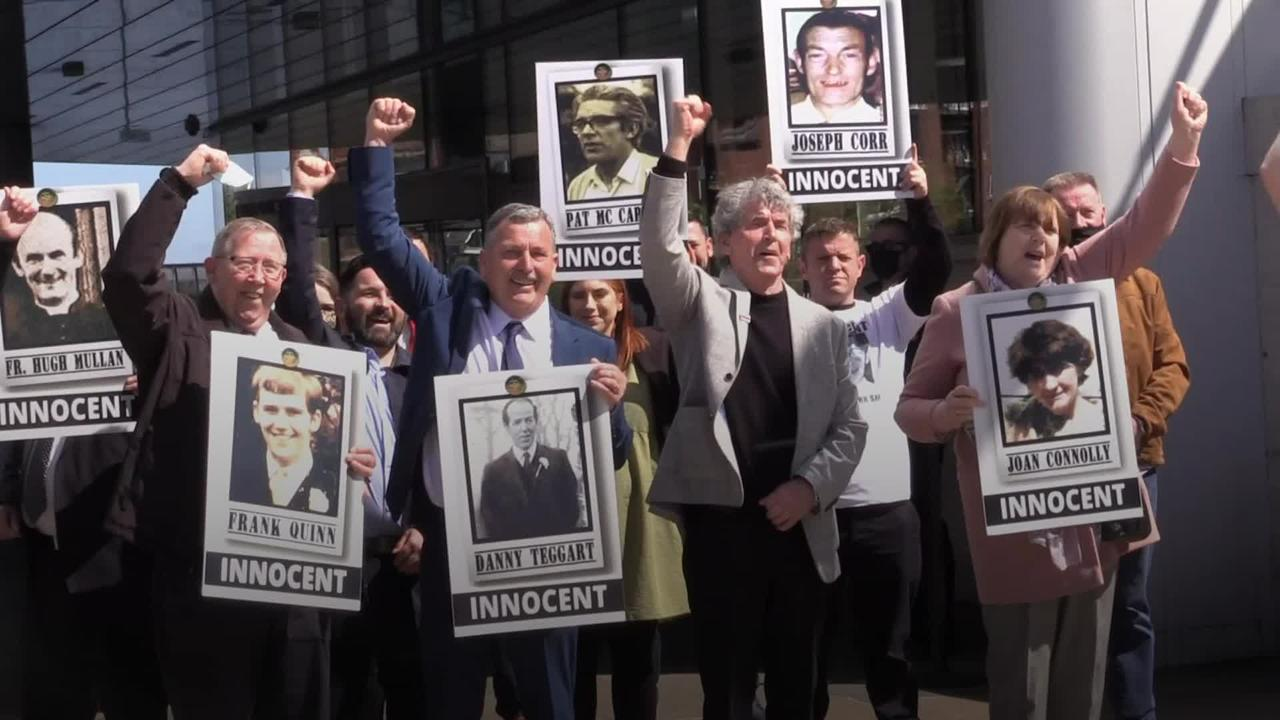Ballymurphy families celebrate inquest findings