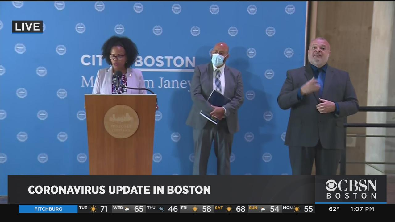Mayor Janey: Boston Is Considering Accelerating Reopening Plans