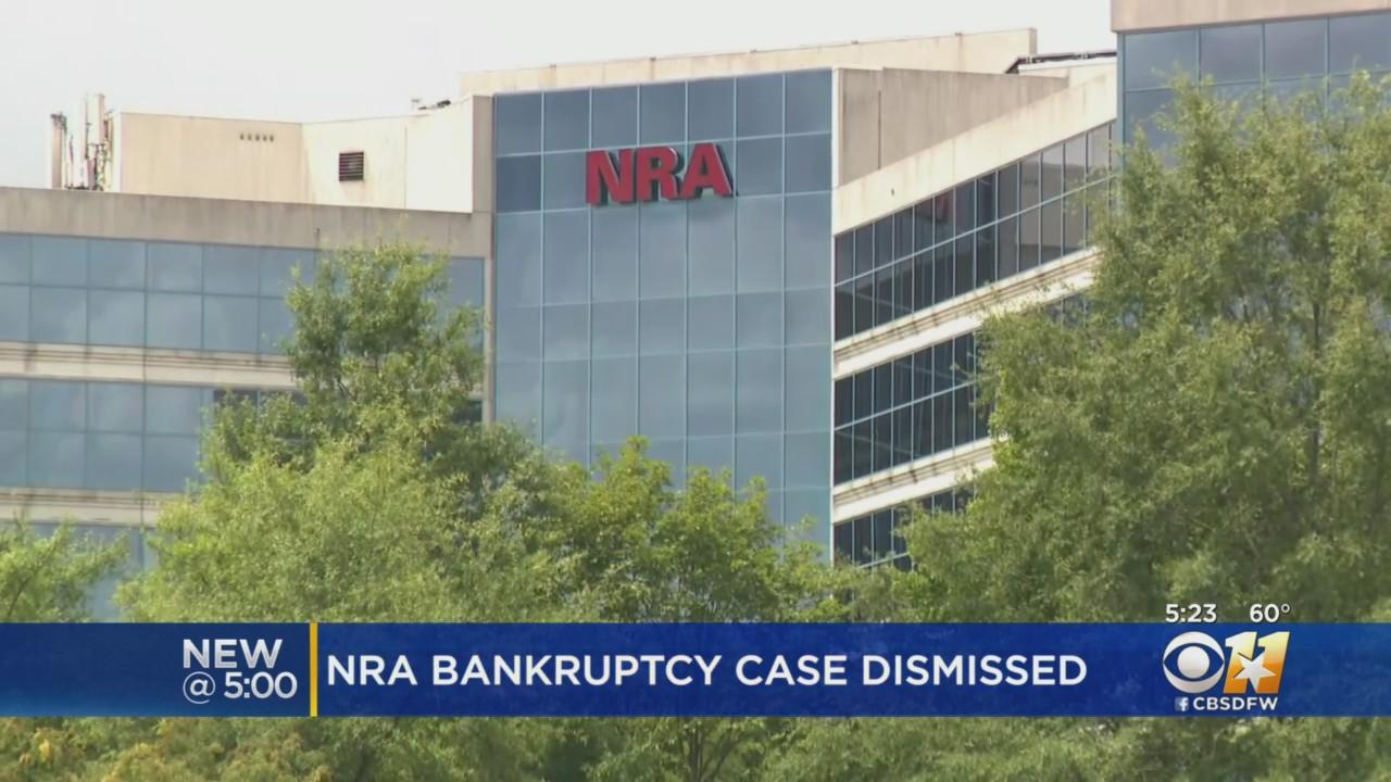 Federal Judge Tosses Out NRA Bankruptcy Case