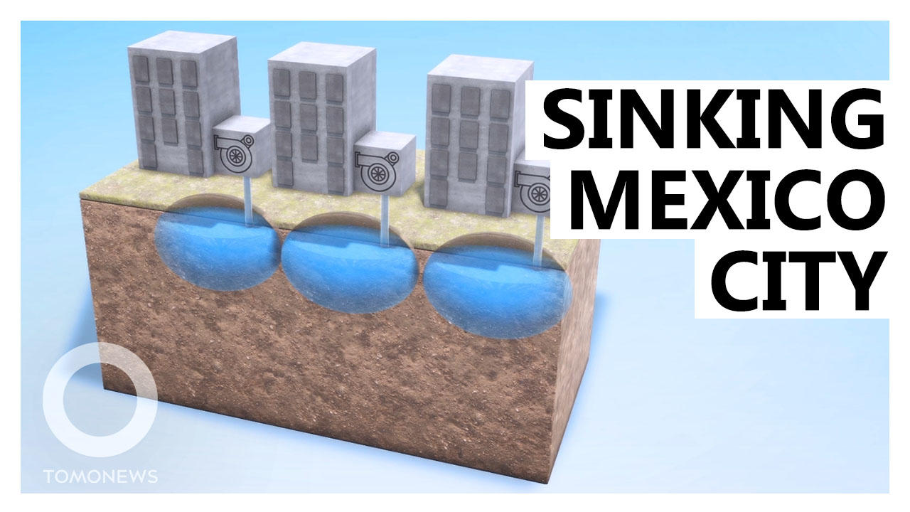 Mexico City Sinking too Fast to be Saved