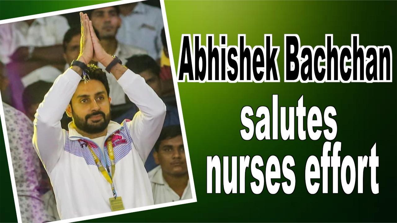 International Nurses Day: Abhishek Bachchan salutes nurses efforts to fight Covid