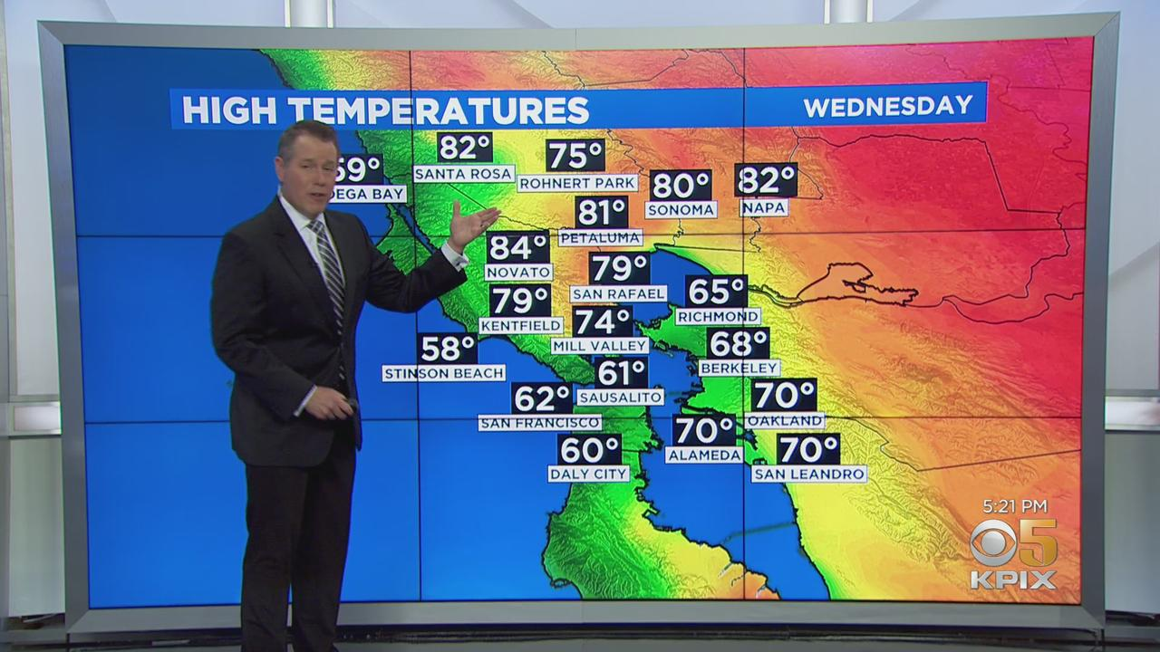 Tuesday Everning Forecast with Paul Heggen